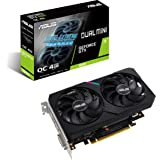 ASUS Dual NVIDIA GeForce GTX 1650 Mini OC Edition Gaming CSM Graphics Card (PCIe 3.0, 4GB GDDR6 Memory, HDMI, DisplayPort, DV