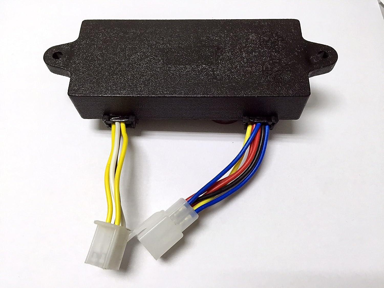 yamasco 4 kW a 5 kW (2) 4.0 kW 5000 kW AVR Generador de 186 F Diesel soldador soldadura gen-welder 10 Cable 250 V 470uF: Amazon.es: Coche y moto