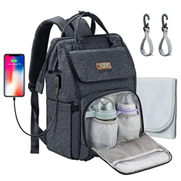 Waterproof Nappy Diaper Baby Change Mum Maternity Backpack Women Travel Bag Tote