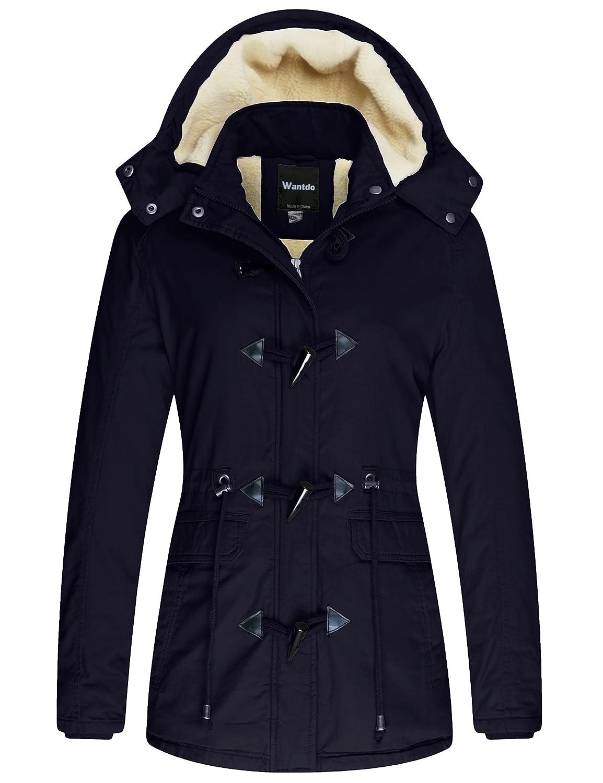 Wantdo Women's Winter Coat Cotton Parka Jacket WT3546