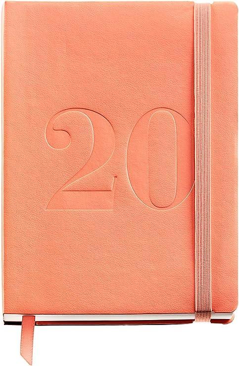 Miquelrius 33415 - Agenda 2020, Día Página (122 x 168 mm), Minimal Melocotón, Catalán: Amazon.es: Oficina y papelería