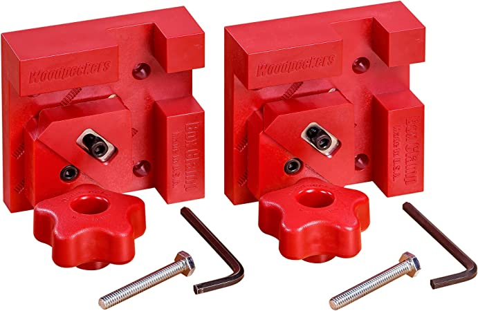 Woodpeckers Precision Woodworking Tools Bc4 M2x2 Box Clamp M2 Pair C Clamps Amazon Com