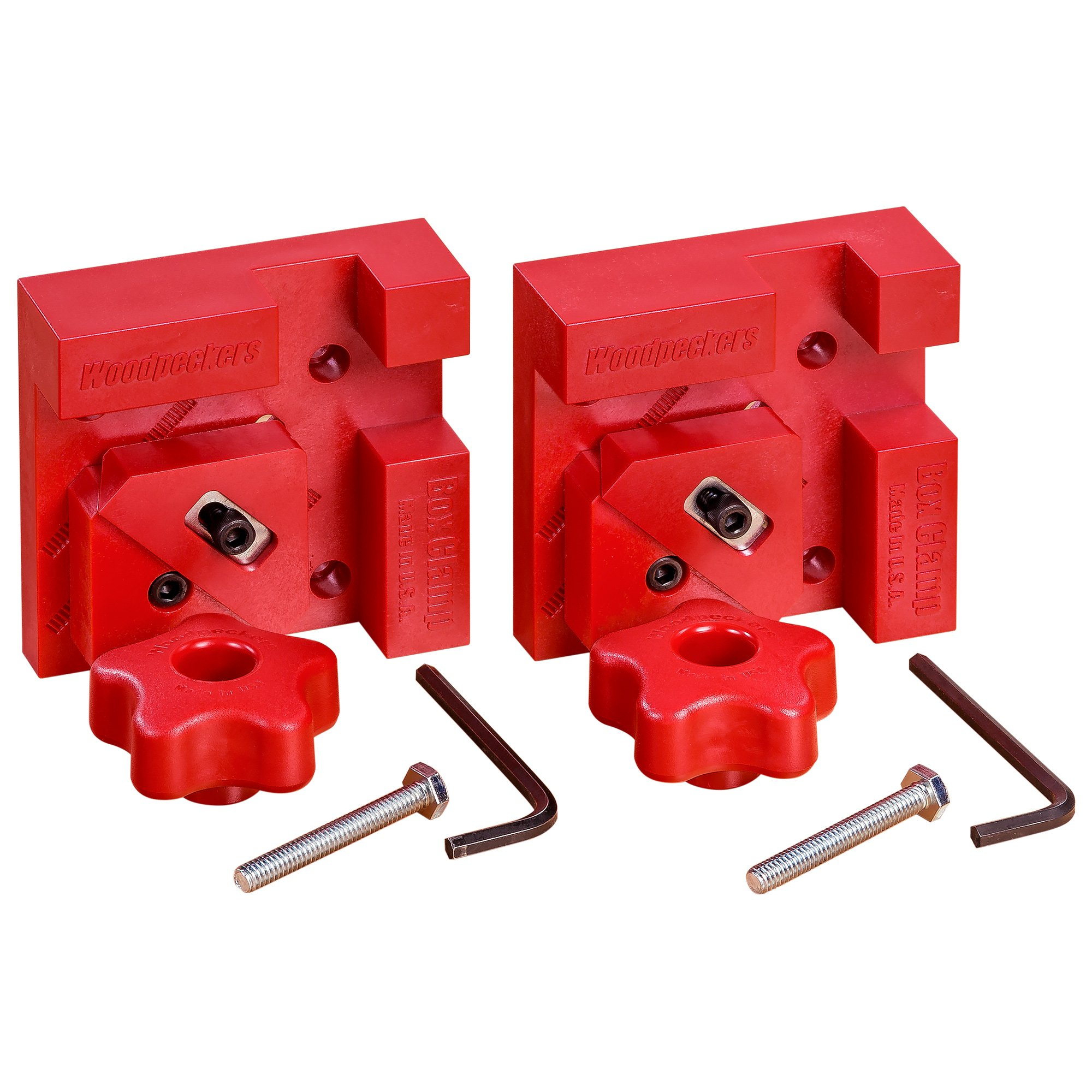 Woodpeckers Precision Woodworking Tools BC4-M2X2 Box Clamp-M2-Pair by Woodpeckers (Image #1)