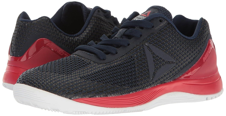Reebok Women's Crossfit Nano 7.0 Track Shoe B06XWXRRW8 5 B(M) US|Collegiate Navy/Primal Red/White/Black