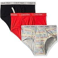 Calvin Klein Big Boys' 3件装平角内裤