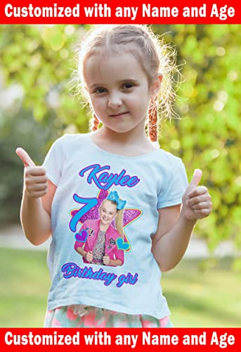 JoJo Siwa Birthday Custom T Shirt Family
