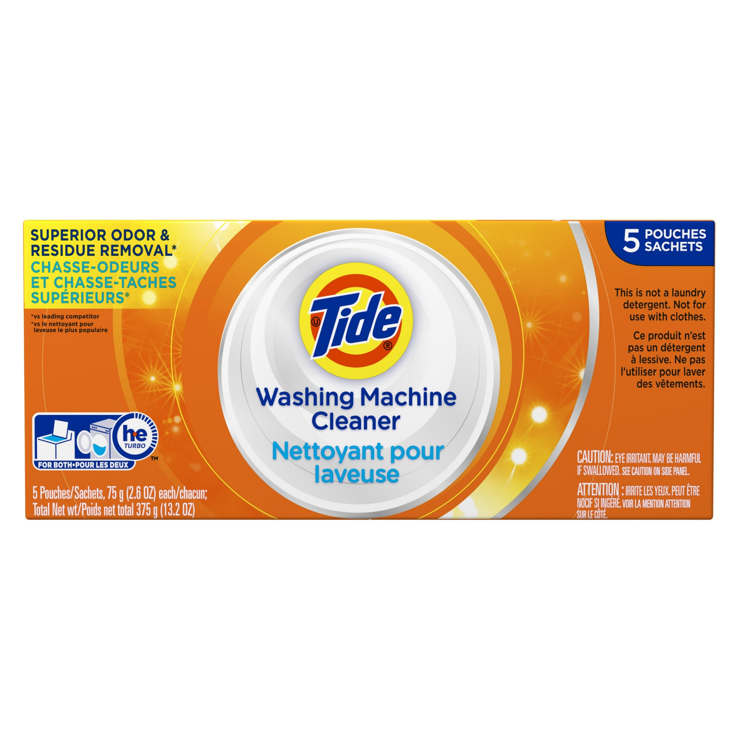 Tide Washing Machine Cleaner 5 Count by Tide