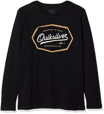 dfe6254de9765 Quiksilver Living On the Edge T-Shirt Garçon  Quiksilver  Amazon.fr ...