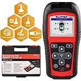 Autel MaxiTPMS TS501 TPMS Relearn Tool OBD2 Scanner, Upgraded Version of TS408 with Program MX-Sensor, TPMS Diagnostic…