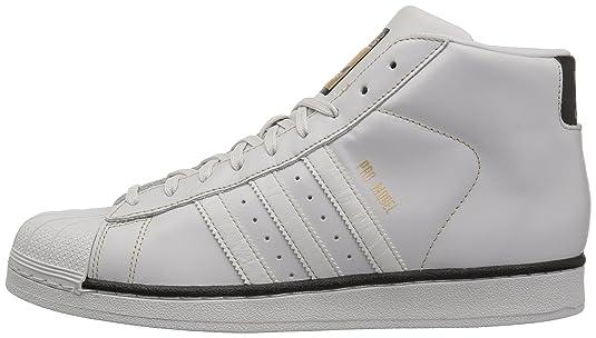 Amazon.com | adidas Originals Mens PRO Model Running Shoe Grey One/Black/Tactile Gold 13 Medium US | Fashion Sneakers