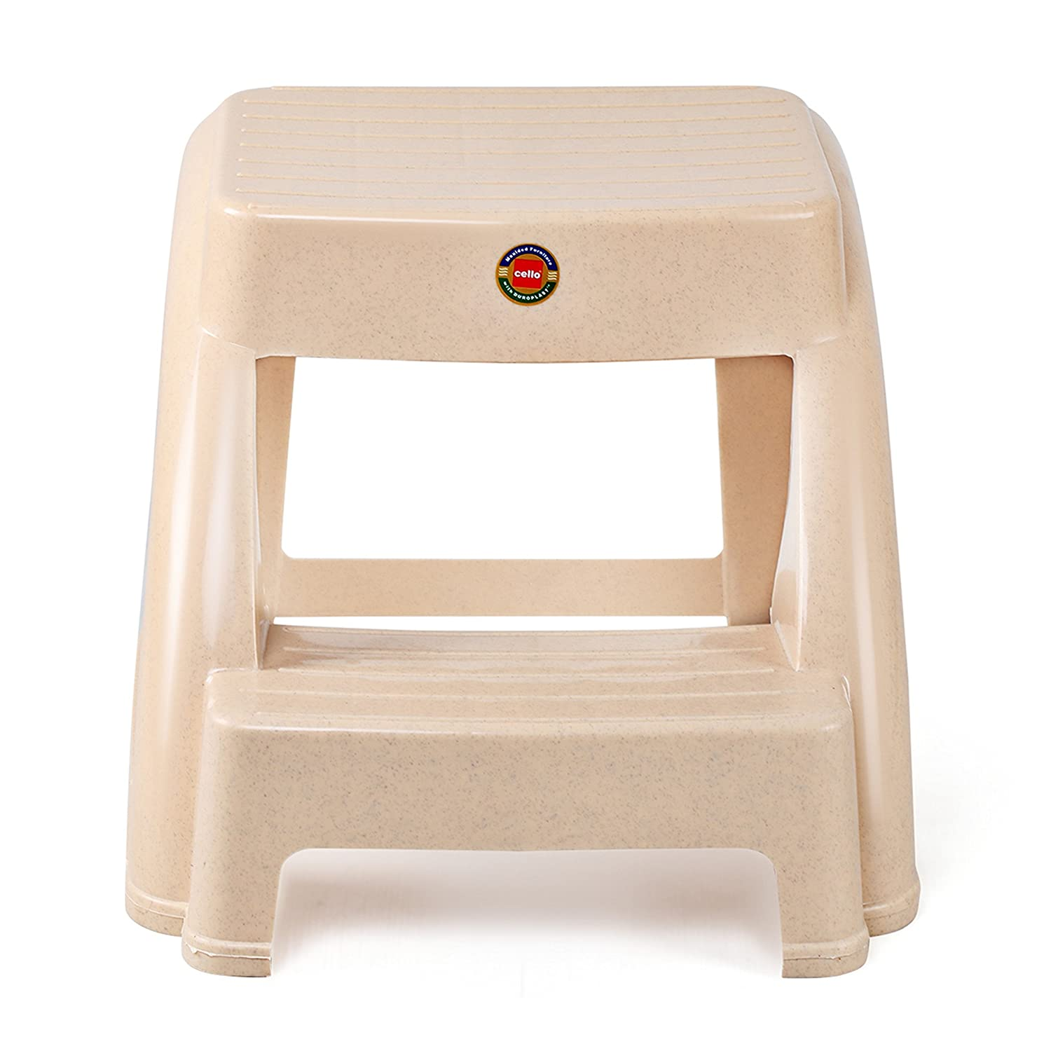 Wondrous Cello Steppy Stool Marble Beige Amazon In Home Kitchen Caraccident5 Cool Chair Designs And Ideas Caraccident5Info