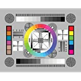 "DGK Color Tools DGK-CSD Set of 3 High Resolution 8"" by 11"" Chrome SD Professional Lens Test Chart for Lens Testing - Calibration - Resolution and Color Calibration for Digital Photo and Video"