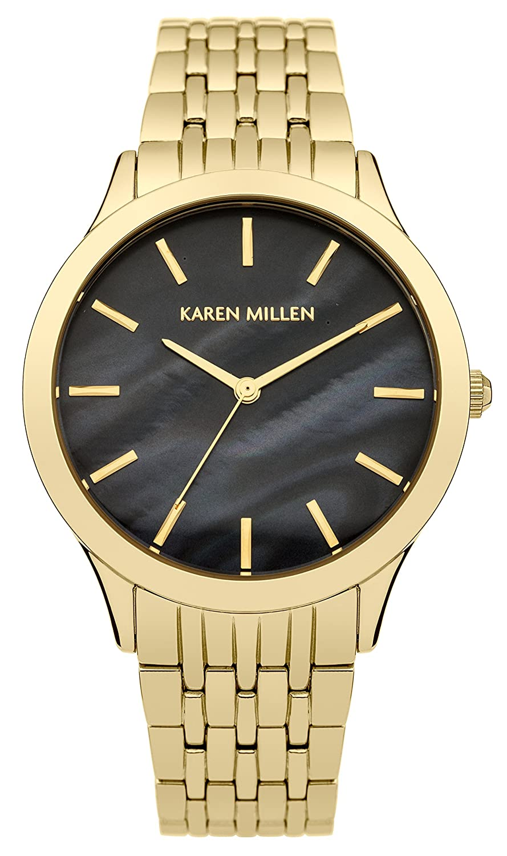 Karen Millen - Damen -Armbanduhr KM106BGM
