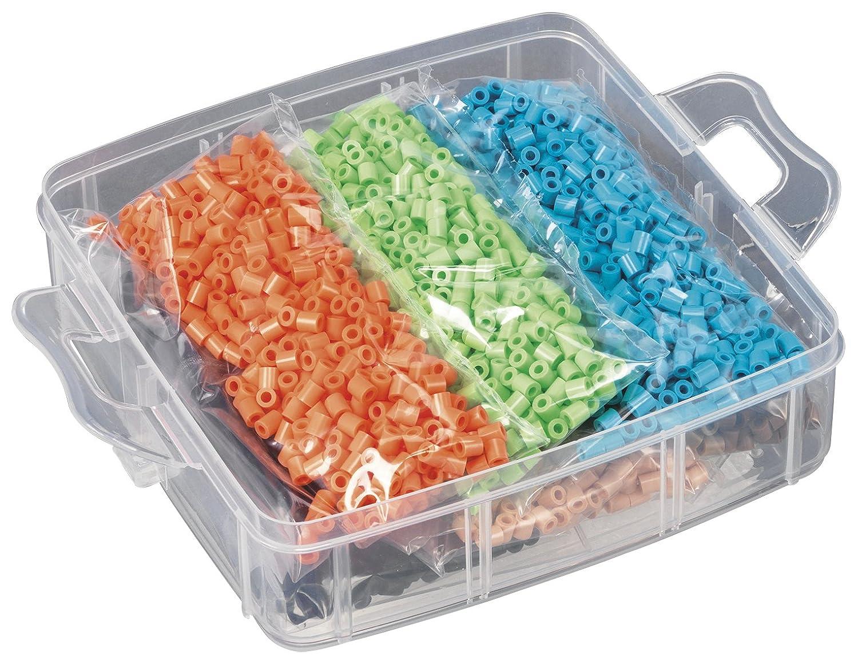 Basteln & Kreativität Hama Midi Bügelperlen kleine Aufbewahrungsbox 6701 Steckperlen Perlen Sortierbox