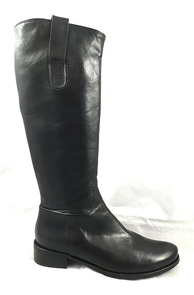 OTTO KERN 80349 Damen Stiefel Leder Schwarz Softvitello XS