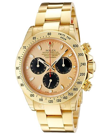 autentico 706dc 2b69f Rolex Daytona 116528 PN 18 K giallo oro automatico orologio ...