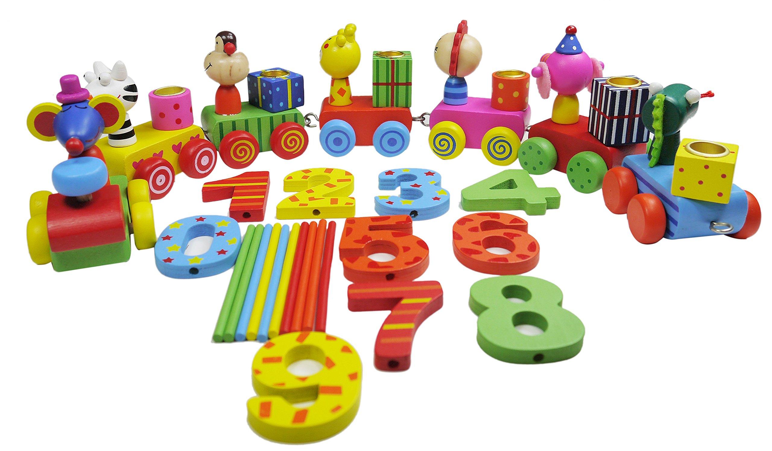 khevga Birthday Train Birthday-Decoration for Girls and Boys
