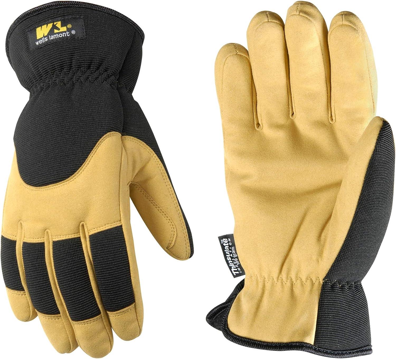 Ultra Comf... Men/'s Insulated Winter Work Gloves Very Warm 100-gram Thinsulate