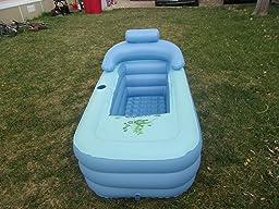 Amazon.com: Inflatable Bath Tub Adult - Bathtub Upgraded