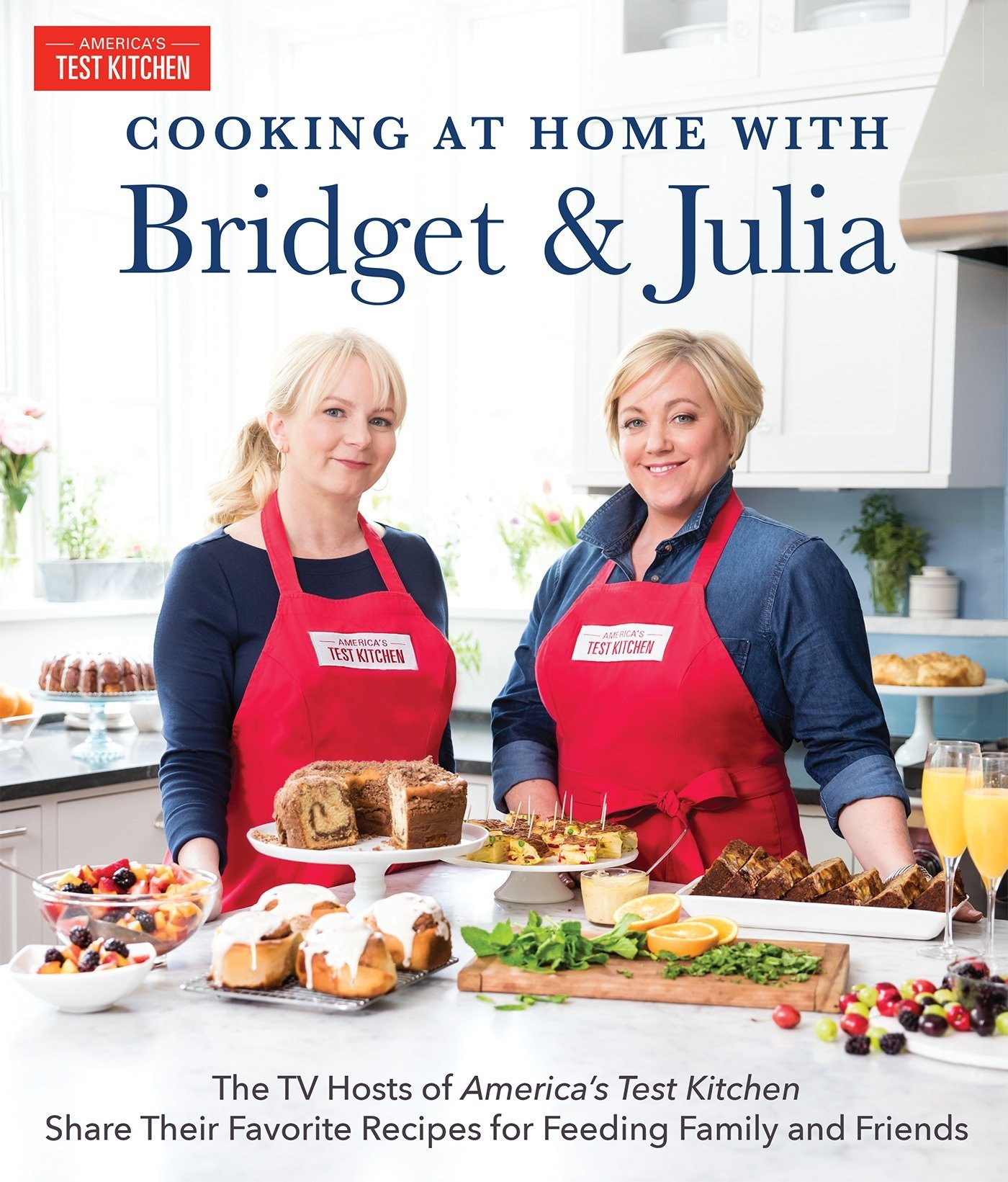 Pleasant Cooking At Home With Bridget Julia The Tv Hosts Of Interior Design Ideas Helimdqseriescom