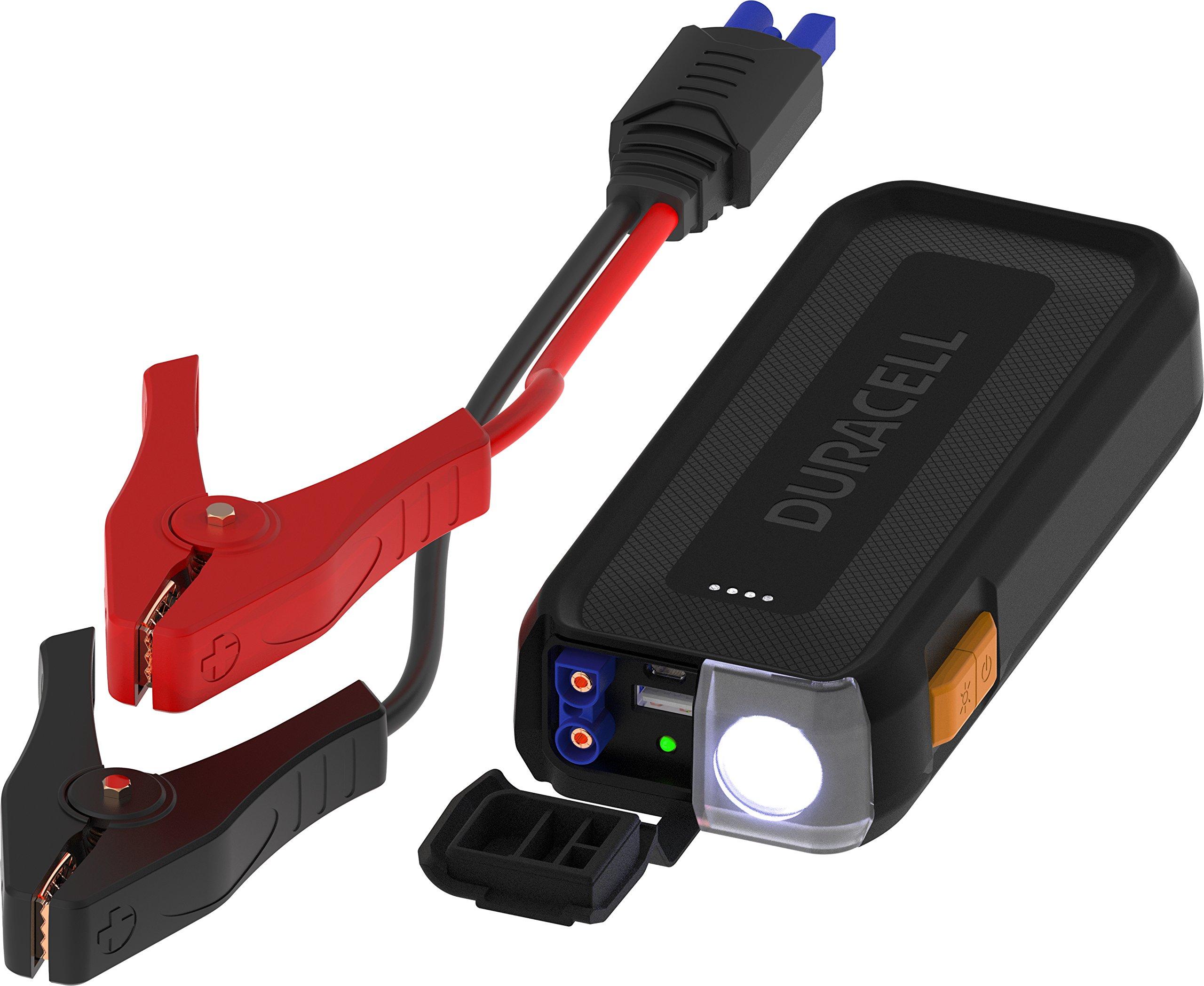 Duracell DRLJS20 Lithium-Ion Emergency Jumpstarter, 1100 Peak Amps