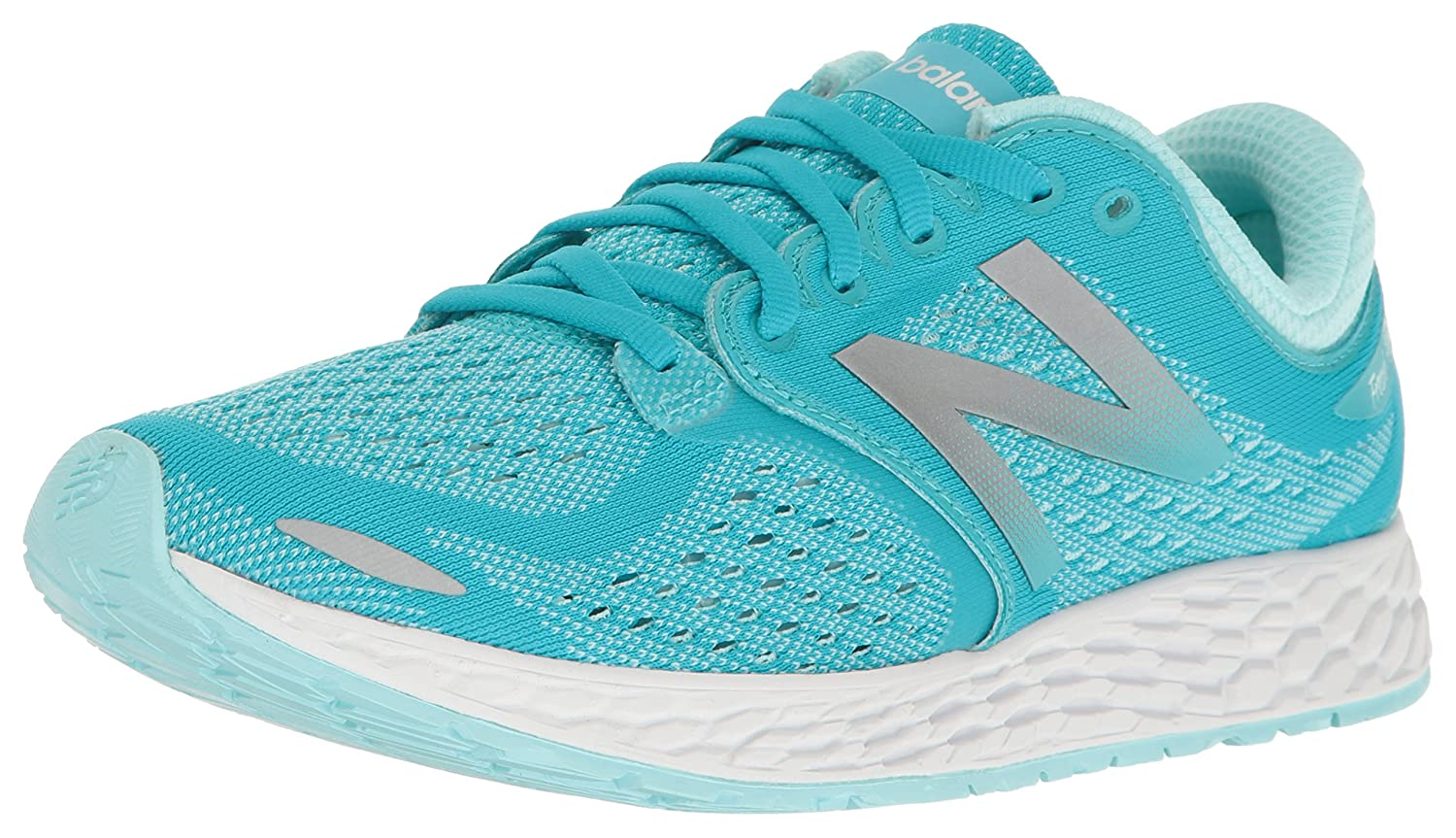 New Balance Women's ZanteV2 Breathe Running Shoe B01LZL1OOZ 8.5 B(M) US|Vivid Ozone Blue/White