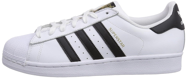 adidas Originals Men's Superstar Shoes B00LLSDVFG 8 D(M) US|White/Core Black/White