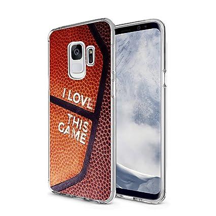 finest selection c39a4 cdc2f Amazon.com: Basketball Phone Case Samsung Galaxy S9, Unique Design ...