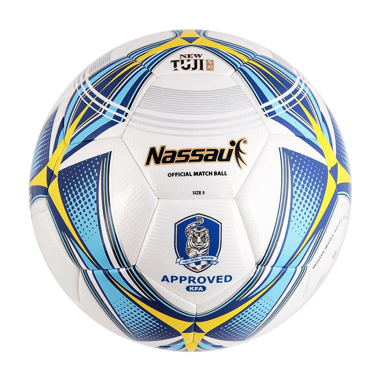 ナッサウ新しいtuji ( sshtj )サッカーボール。No。5 (ハイブリッドボール) B079GR191V