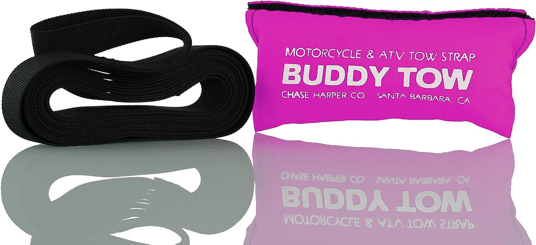 Buddy Tow Tough military spec nylon webbing Chase Harper USA 9100 1785 lb. test Black 12 x 1