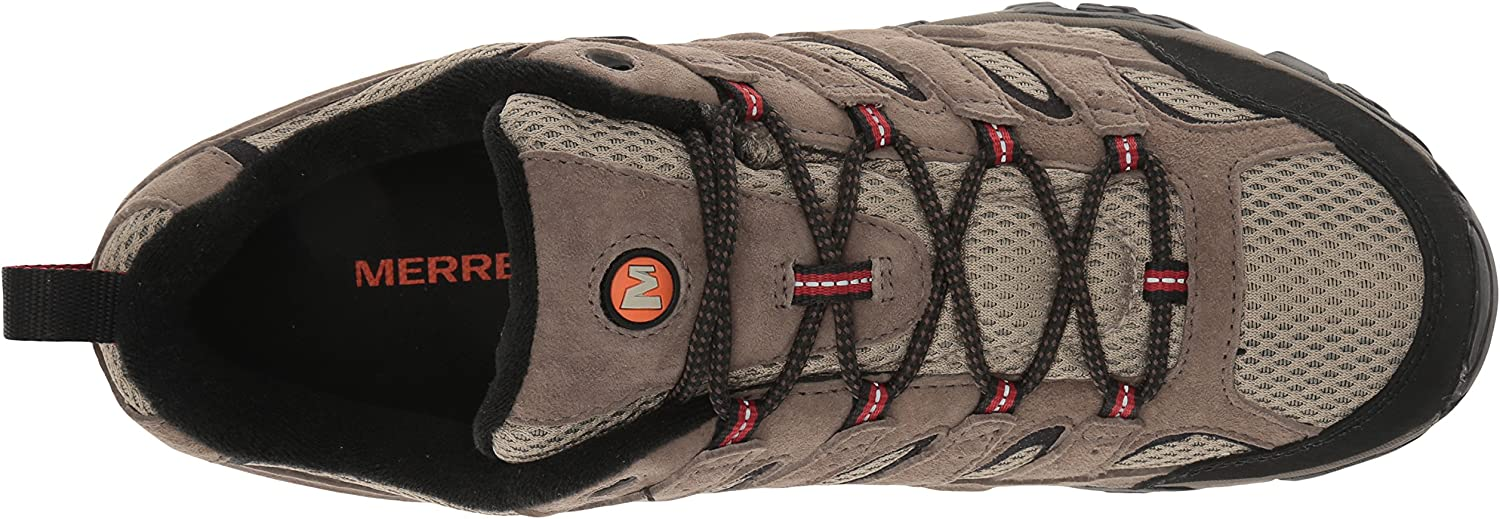 Merrell Men's Moab 2 Waterproof Hiking Shoe Bark Brown
