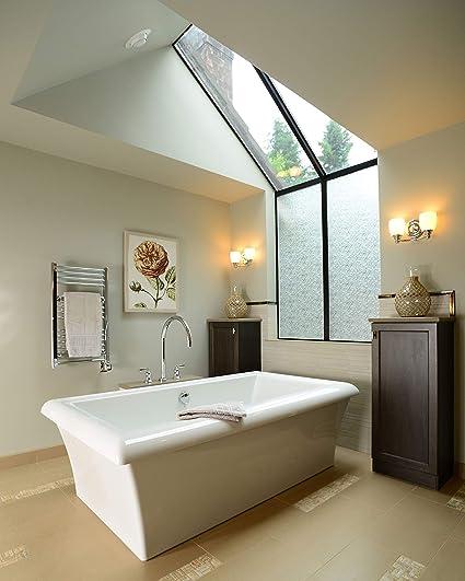 18W x 7H Feiss VS7403-SN Bentley Glass Wall Vanity Bath Lighting 3-Light Satin Nickel 18W x 7H 300watts 300watts 3-Light