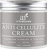 ArtNaturals Anti Cellulite Zellulitis Creme - mit Retinol, Koffein & Seetang - Wellness Behandlung für Straffe Haut - 120 ml