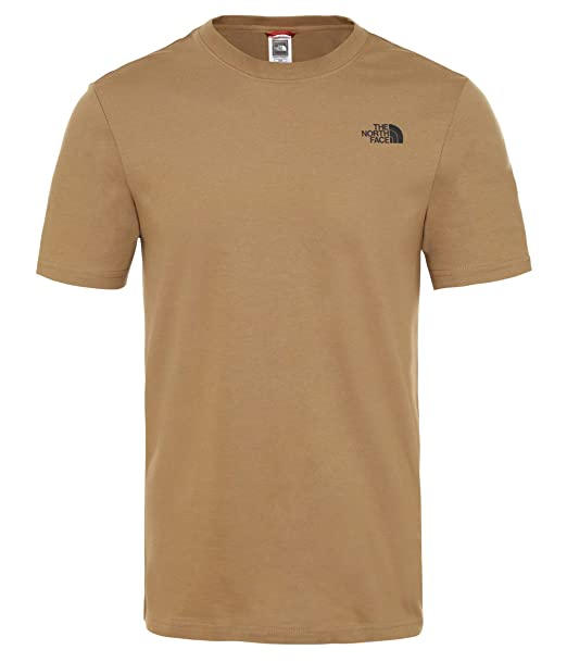save off 63b6b d35ff The North Face Herren T-Shirt MS/S Red Box
