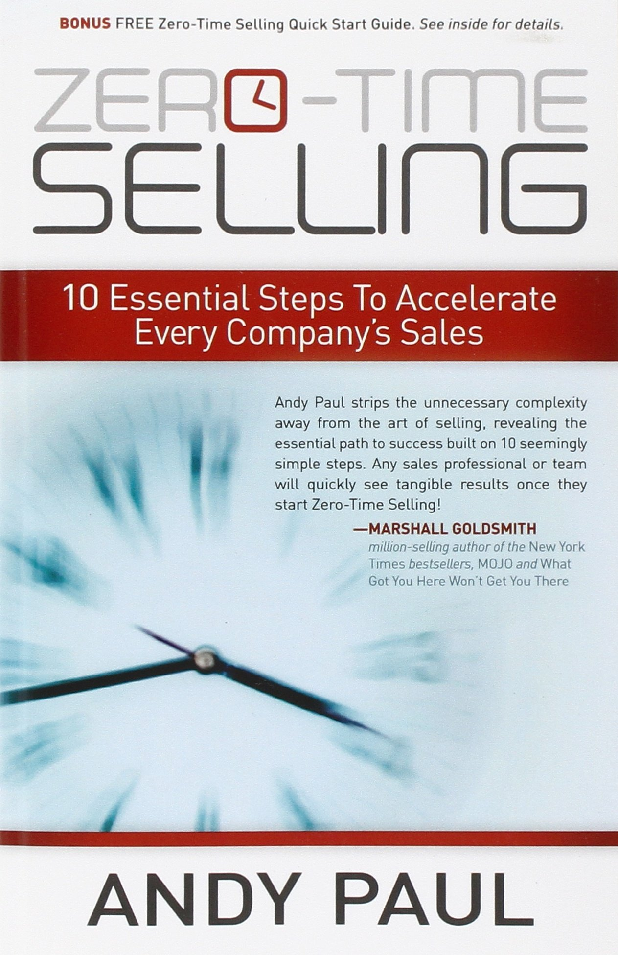 amazon zero time selling 10 essential steps to accelerate every