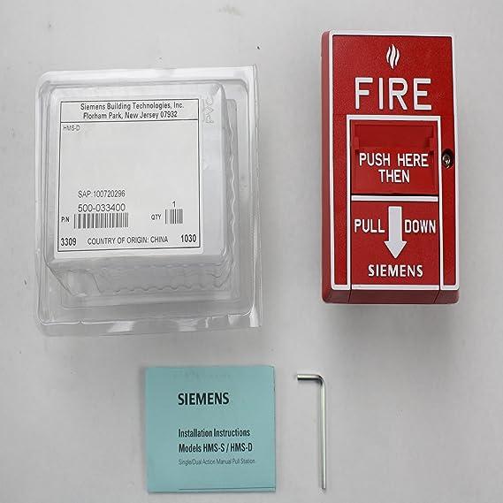 Siemens hms-d doble acción MANUAL DE ALARMA contra incendios ...