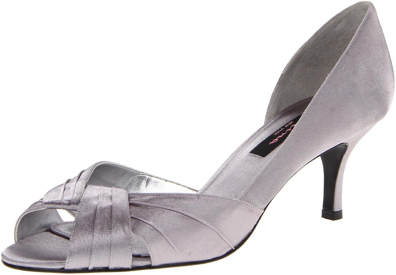 Nina Women's Culver-YS Dress Pump B005BYFRNA 5.5 B(M) US|Silver