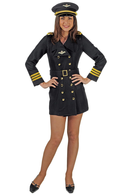 Pilotin   Piloten-Kostüm-Damen (L)  L