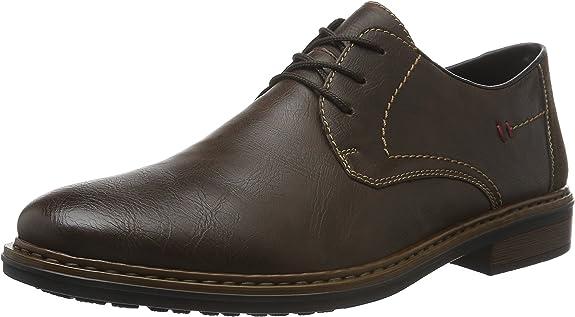 TALLA 43 EU. Rieker 17610, Zapatos de Cordones Derby Hombre