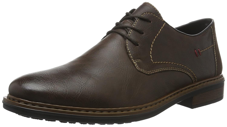 TALLA 42 EU. Rieker 17610, Zapatos de Cordones Derby para Hombre