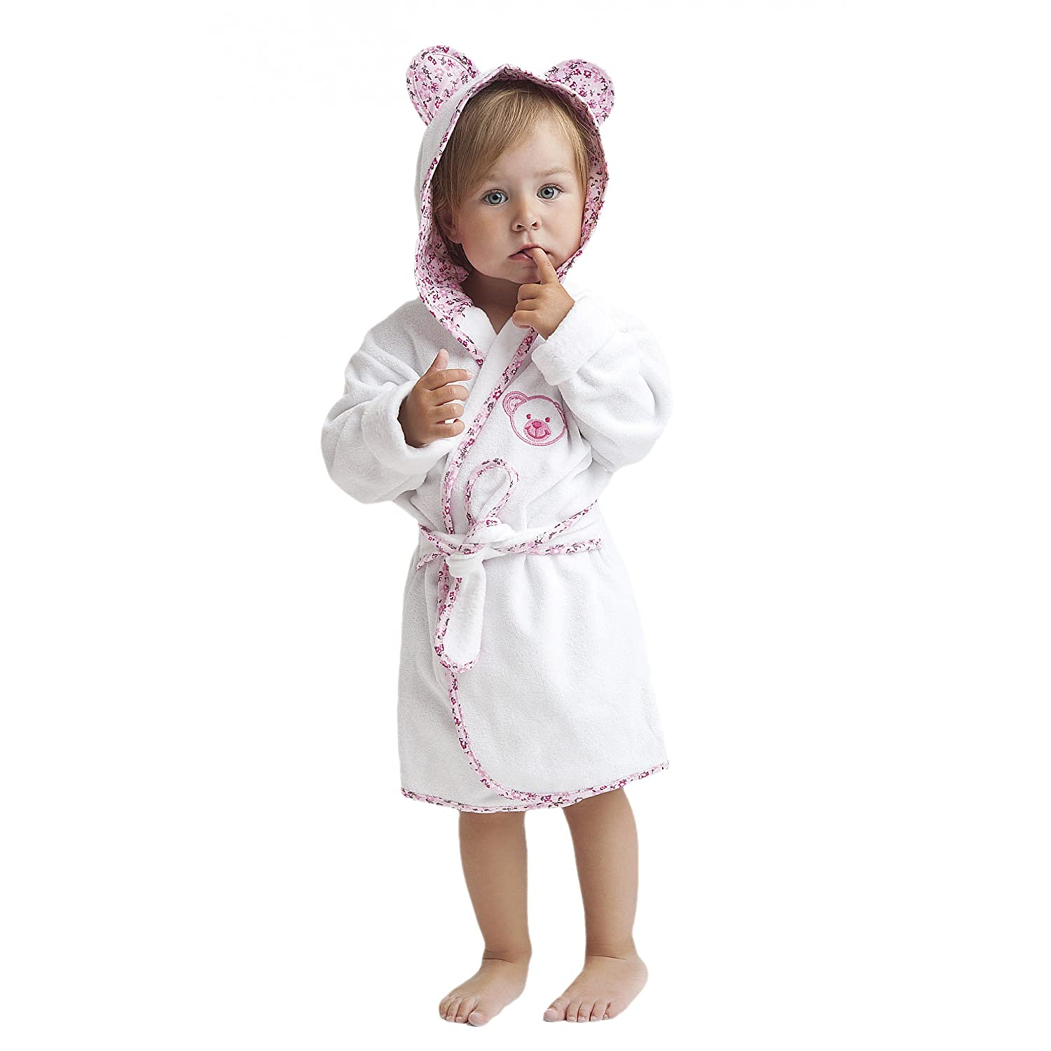 Boys / Girls Bathrobe 100% Cotton Terry Towelling Dressing Gown Housecoat