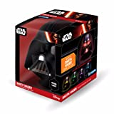 Illumi-Mates Star Wars Official Darth Vader Bedside Lamp (One Size) (Multicolored)