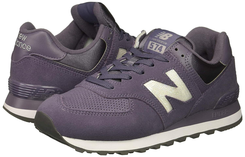 New Balance Womens 574 Core Sneaker, deep Cosmic SkyMarblehead, 9 B US