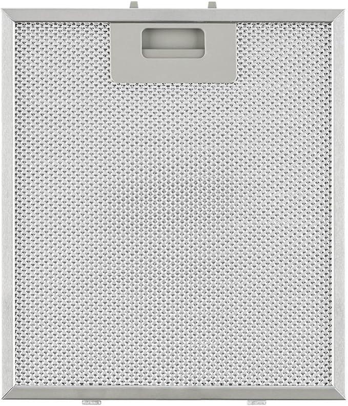Klarstein Repuesto de filtro de grasa de aluminio 23 x 26 cm (adecuado para campanas extractoras Klarstein): Amazon.es: Hogar