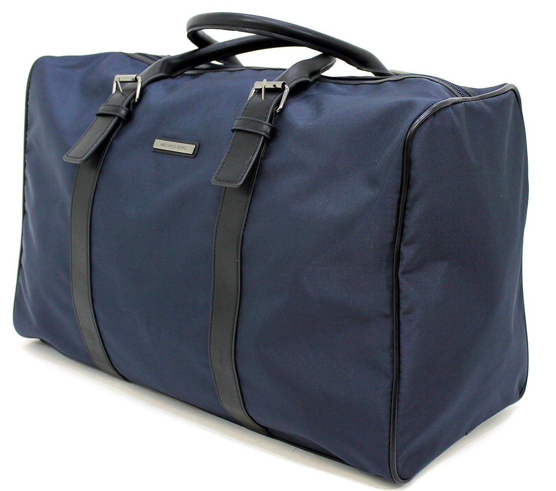 bcdae88f8f MICHAEL KORS MEN DARK BLUE JET SET LARGE DUFFLE   HOLDALL   WEEKEND   TRAVEL  BAG  Amazon.co.uk  Luggage