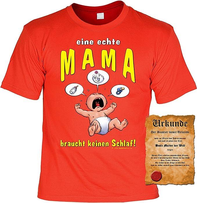 1T de camiseta, camiseta, diseño FUN – Camiseta y Refranes diversión Escrituras Juego de regalos de cumpleaños, una verdadera Mama rojo XXXL: Amazon.es: Ropa y accesorios