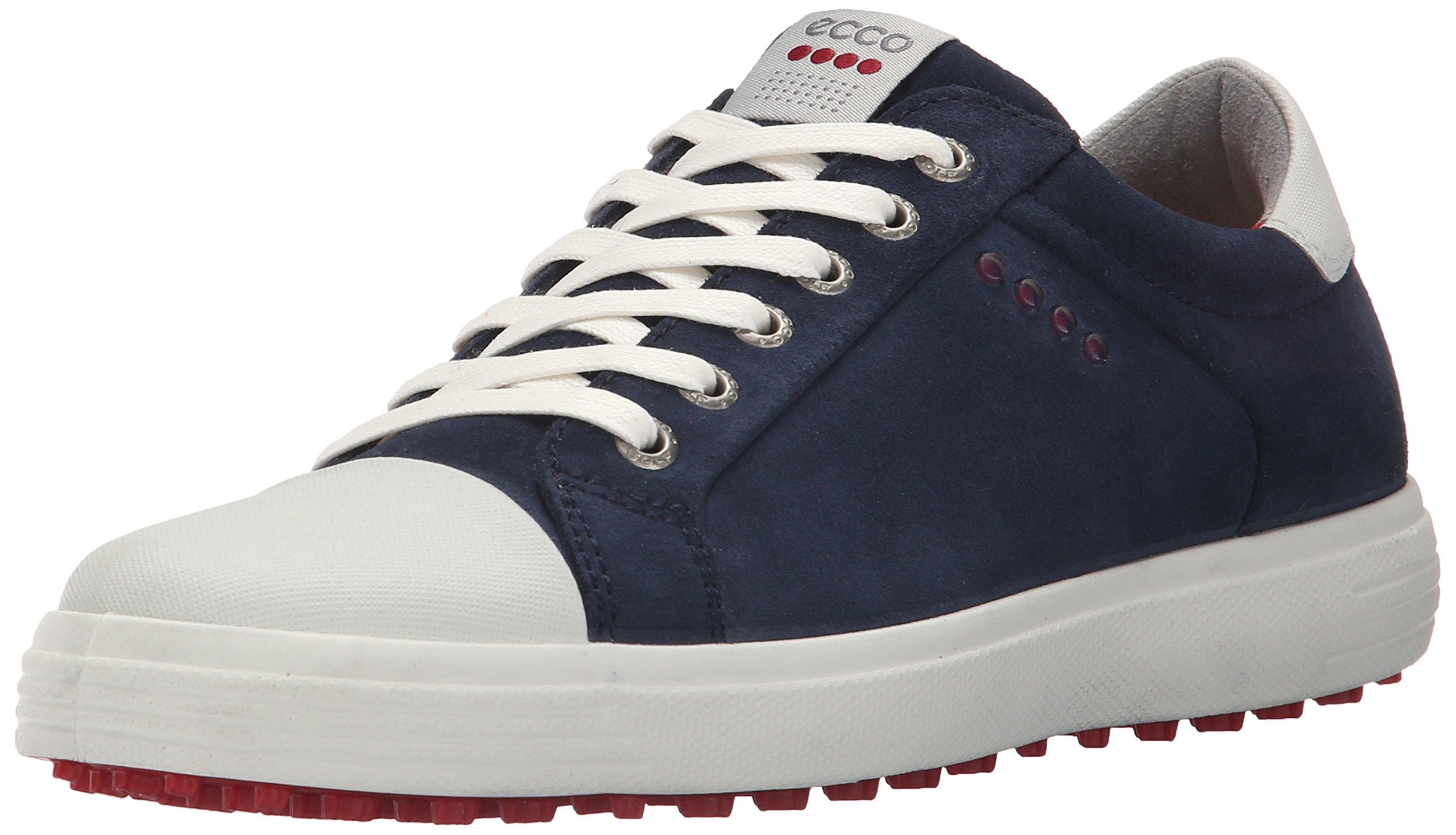 ECCO Men's Casual Hybrid Golf Shoe, Marine/White, 45 EU/11-11.5 M US