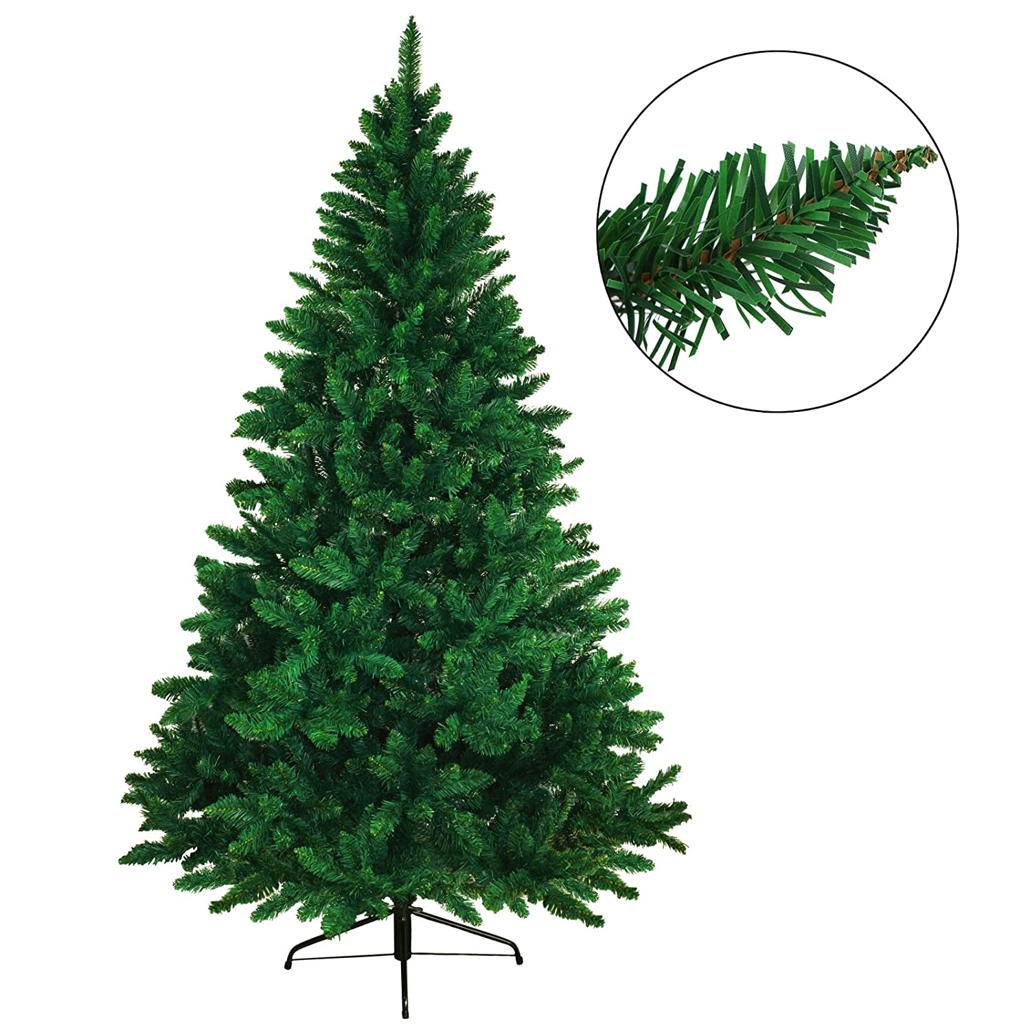 BB Sport Artificial Xmas Christmas Tree in different Sizes and Colours, Height:120 cm (360 tips), Colour:light green