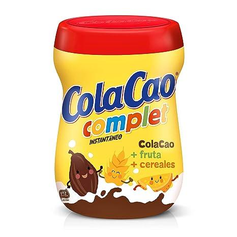 Cola Cao Complet: Con Frutas y Cereales - Envase de 360g: Amazon ...