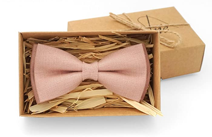 Amazon Dusty Pink Bow Ties For Men And Boys As Wedding Gift
